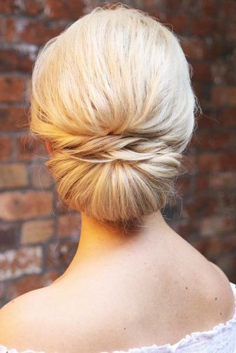 70+ Fun And Easy Updos For Long Hair | Lovehairstyles In Simple Pony Updo Hairstyles With A Twist (View 18 of 25)