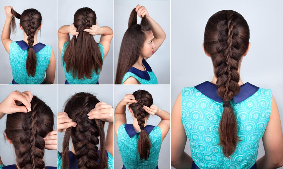 72 Trendy Diy Hairdo Braid Tutorials To Hog The Limelight pertaining to Newest Side Swept Carousel Braided Hairstyles
