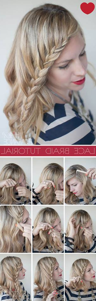 72 Trendy Diy Hairdo Braid Tutorials To Hog The Limelight Regarding 2020 Billowing Ponytail Braided Hairstyles (View 20 of 25)