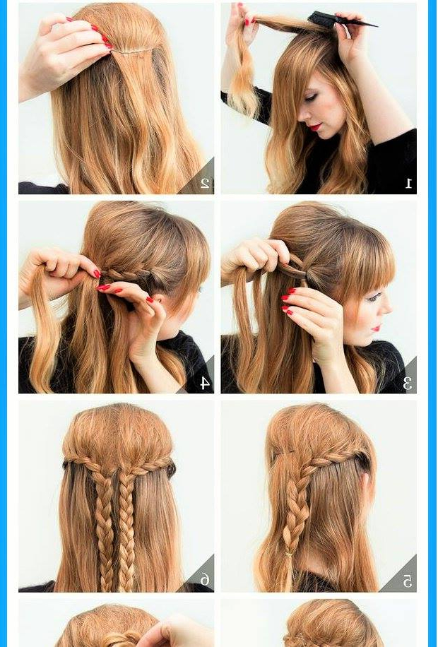 72 Trendy Diy Hairdo Braid Tutorials To Hog The Limelight With Regard To Latest Billowing Ponytail Braided Hairstyles (View 17 of 25)