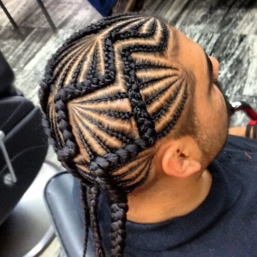 73 Braid Styles For Men – Our Hairstyle 2019 With Most Popular Zig Zag Cornrows Braided Hairstyles (View 11 of 25)