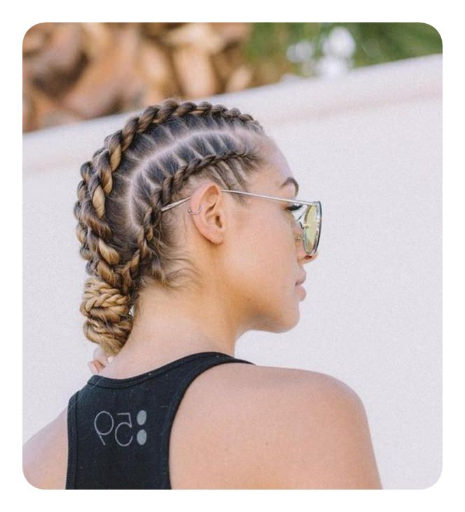 78 Unique And Fashionable Rope Braid Hairstyles Throughout High Rope Braid Hairstyles (View 21 of 25)