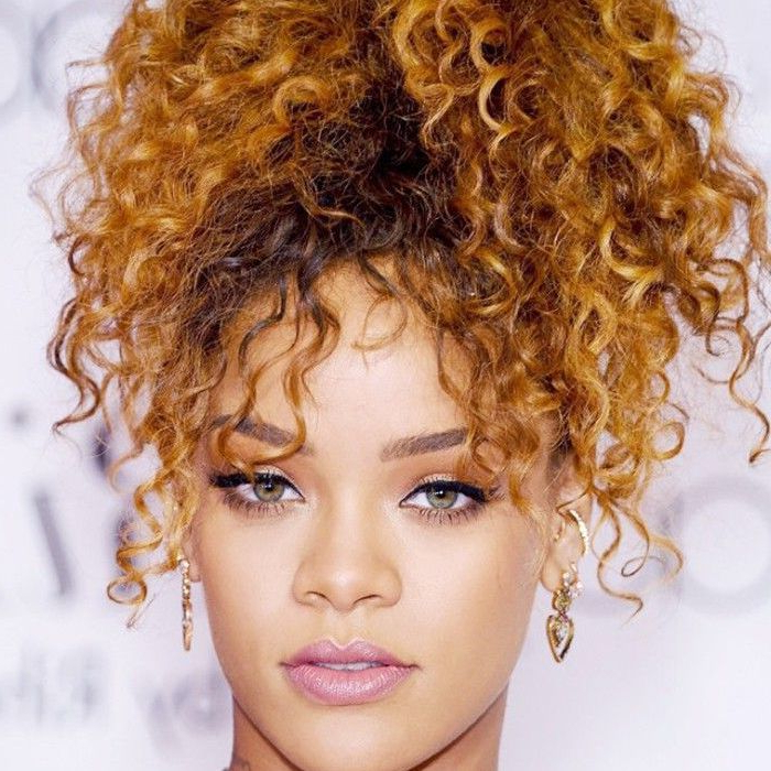 8 Easy Naturally Curly Hairstyles You'll Love With Regard To Sky High Pony Updo Hairstyles (View 20 of 25)