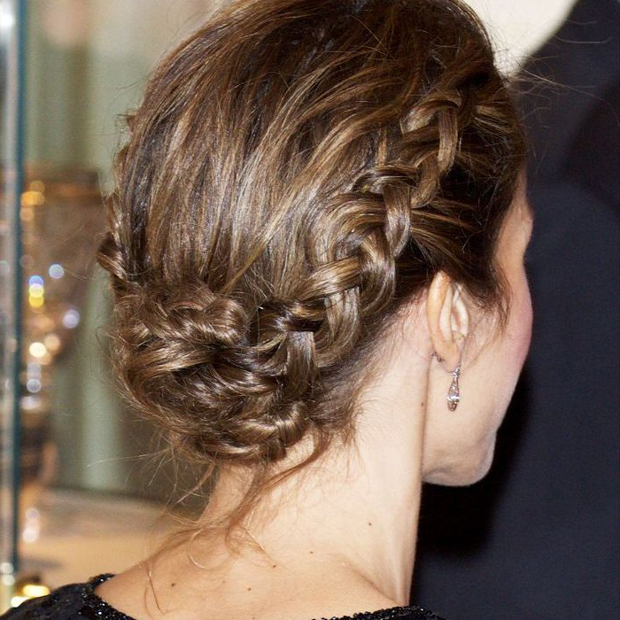 8 Low Bun Hairstyles To Save You On Lazy Mornings For Best And Newest Plaited Low Bun Braided Hairstyles (View 12 of 25)