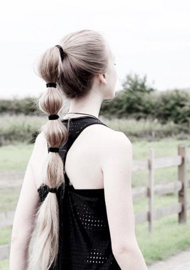 8 Ways To Style A Bubble Pony When A Regular Ponytail Just Within Bubble Pony Updo Hairstyles (View 11 of 25)