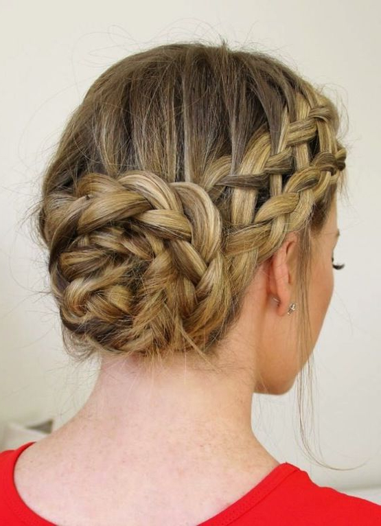 8 Ways To Wear Braids | Beauty + Makeup | Hair Inspiration In Multi Braid Updo Hairstyles (View 8 of 25)