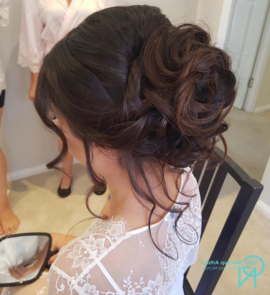 80 Beautiful Updos For Women – Best Updo Hairstyles Of 2019 Throughout Blinged Out Bun Updo Hairstyles (View 10 of 25)