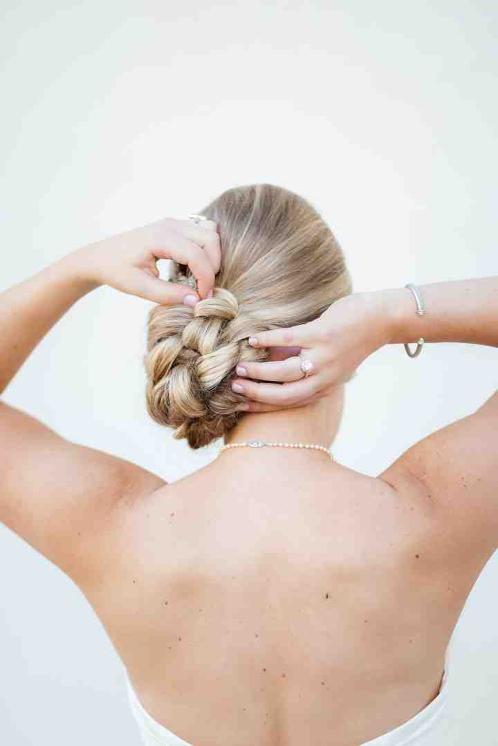 9 Braided Hairstyles We Know You'll Love – Weddingwire Regarding 2020 Braided Chignon Bun Hairstyles (View 18 of 25)