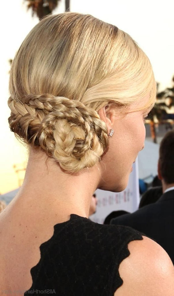 9 Elegant Side Swept Updo Hairstyles For Cute Face Regarding Side Swept Braid Updo Hairstyles (View 19 of 25)