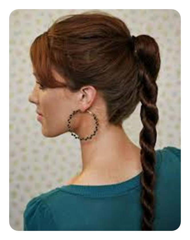 91 Time Saving Rope Braids To Try Regarding High Rope Braid Hairstyles (View 14 of 25)