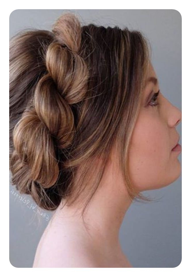 91 Time Saving Rope Braids To Try Regarding Twisted Rope Braid Updo Hairstyles (View 20 of 25)
