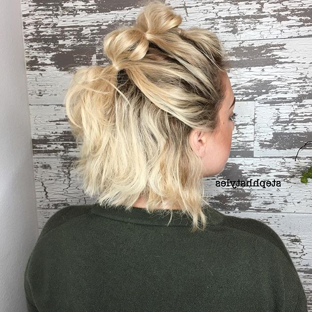 A Cute And Super Simple Way To Dress Up Short Hair (View 5 of 25)