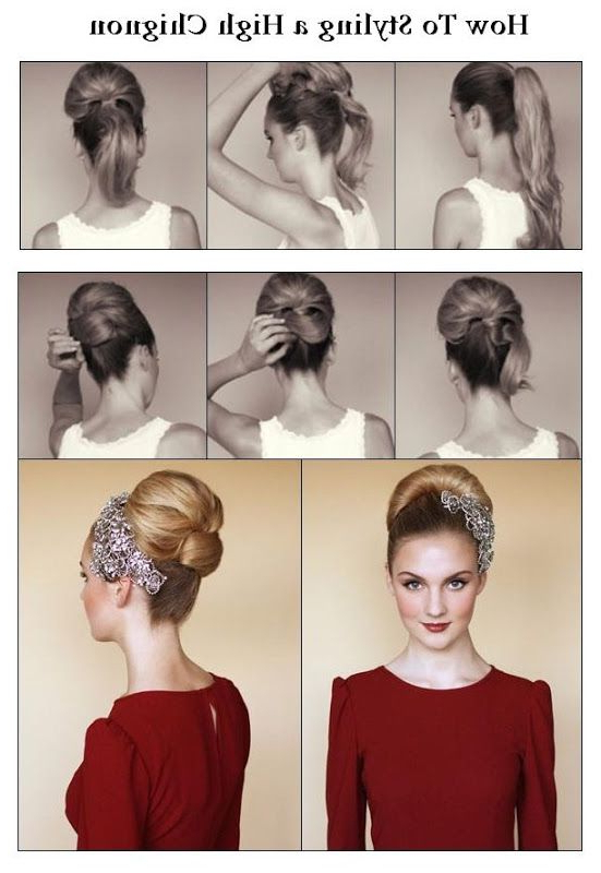 A Little Bit Of The Right Short Of Bling Bling On The Hair Throughout Blinged Out Bun Updo Hairstyles (View 2 of 25)