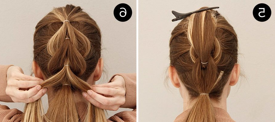 Add Edge To Any Look With This Easy Pull Through And With Regard To Pull Through Ponytail Updo Hairstyles (View 3 of 25)