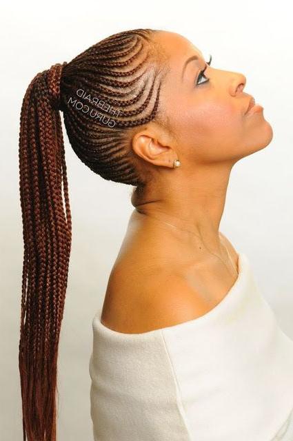 Amazing Cornrow Braids! | Gorgeous Hairstyles | Cornrow For Cornrow Braids Hairstyles With Ponytail (View 23 of 25)