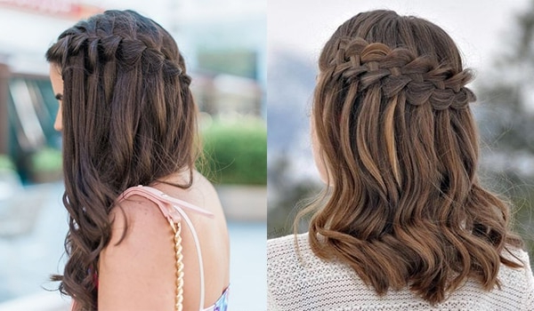 Amp Up Your Hair Game With These Stunning Waterfall Braids Pertaining To Waterfall Braids Hairstyles (View 3 of 25)
