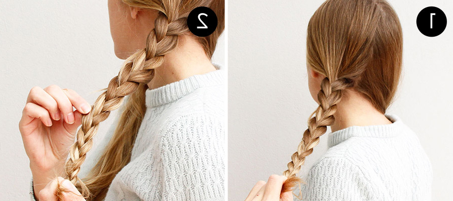 An Easy Braided Hairstyle For Any Occasion – More For Latest Three Strand Pigtails Braided Hairstyles (View 15 of 25)