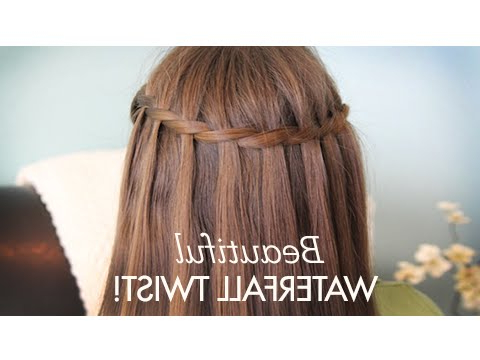Beautiful Waterfall Twist | Cute Girls Hairstyles With Regard To Latest High Waterfall Braided Hairstyles (View 18 of 25)