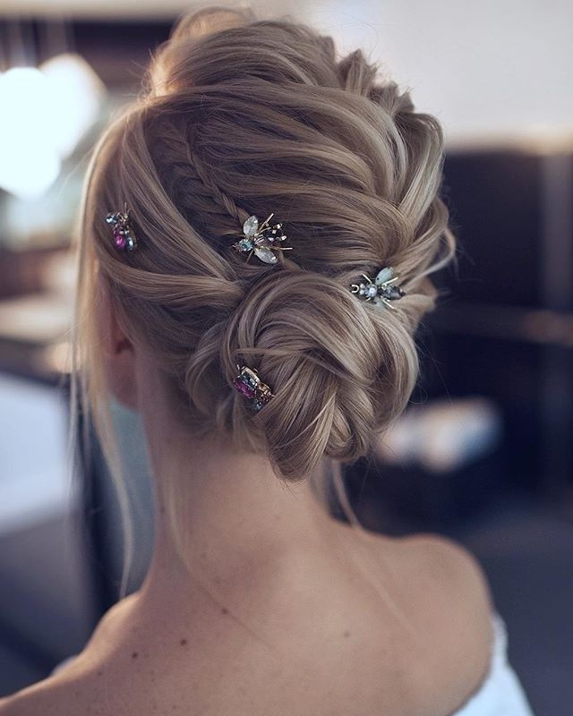 Bellemagazine Posted To Instagram: This Soft And Ethereal Regarding Ethereal Updo Hairstyles With Headband (View 7 of 25)