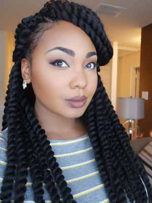 Black Braided Hairstyles 2019 – Big, Small, African, 2 And 4 Within Best And Newest Thick Cornrows Braided Hairstyles (View 24 of 25)