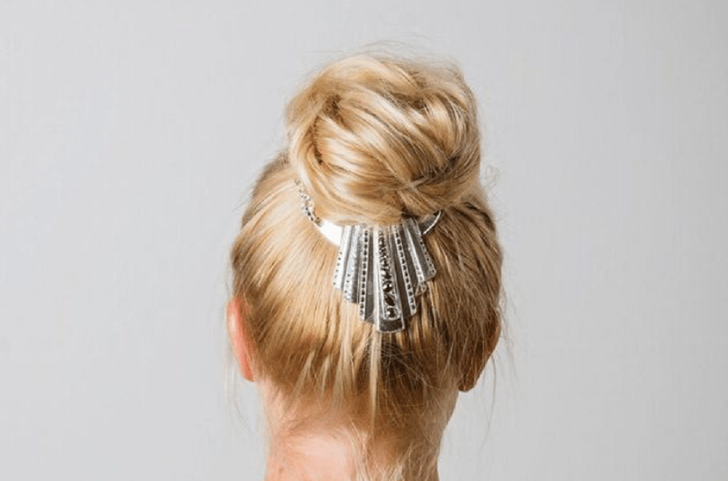 Bling Up Your Bun Hairstyles (View 4 of 25)