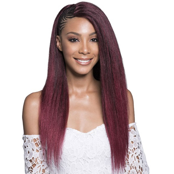 Bobbi Boss Synthetic Hair Feather Tip Pre Feathered Braid 40 Inch Throughout Most Recent Tipped Box Braid Spiral Bun Hairstyles (View 14 of 25)
