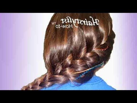 Bohemian Long And Loose Asymmetrical French Braid: Hair Tutorial: Easy And Quick Pertaining To Best And Newest Asymmetrical French Braided Hairstyles (View 20 of 25)