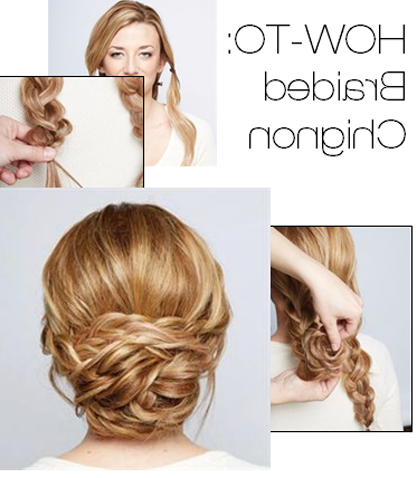 Featured Photo of Braided Chignon Hairstyles