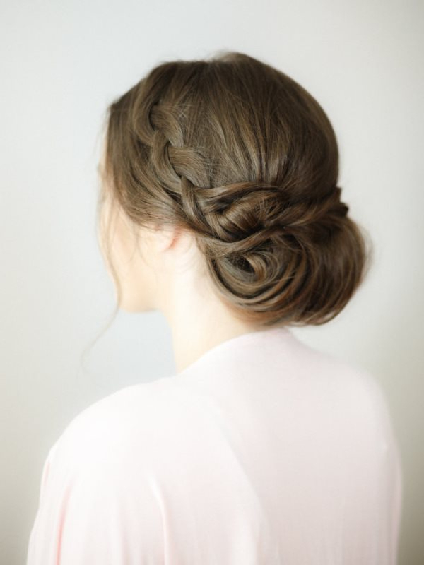 Braided Hair Archives – Weddingomania Pertaining To Most Recently Braided Chignon Hairstyles (View 16 of 25)