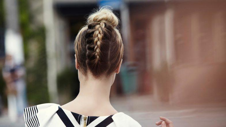 Braided Top Knot: Two Must Try Styles You Will Love! Pertaining To Topknot Hairstyles With Mini Braid (View 17 of 25)