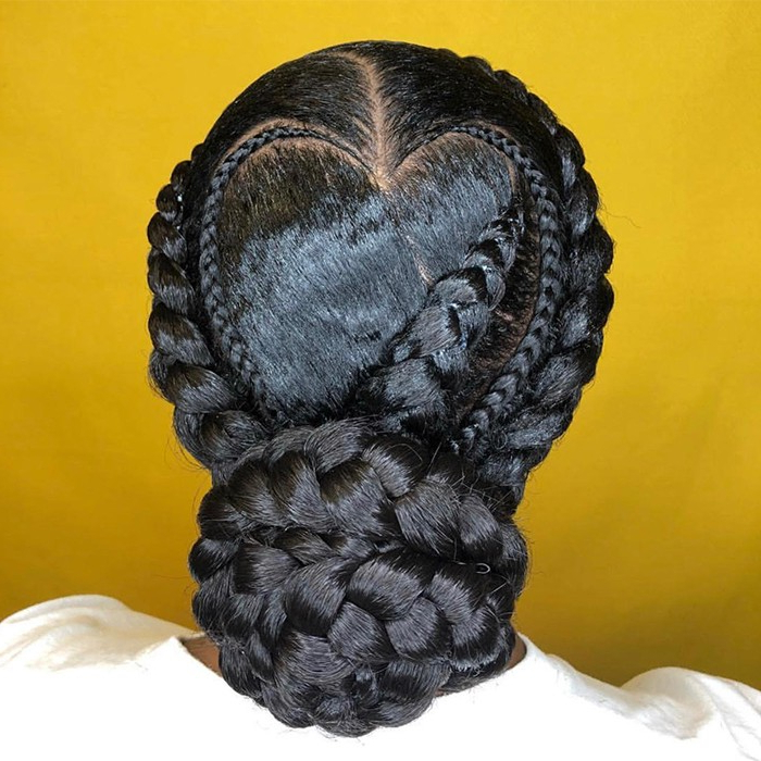Braided Updos For Every Occasion | Naturallycurly Intended For Criss Cross Braid Bun Hairstyles (View 19 of 25)