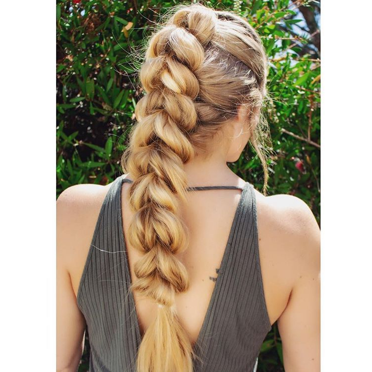 Bubble Braids. Updo. Spring Hairstyles (View 4 of 25)