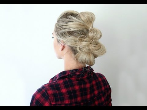 Bubble Updo | Cute Girls Hairstyles – Youtube Within Bubble Braid Updo Hairstyles (View 10 of 25)
