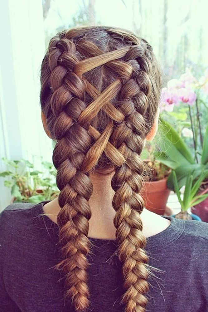 Cable Knit Nails The Latest Trend This Season | Hair Styles throughout Best and Newest Corset Braided Hairstyles