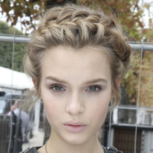 Channel Your Inner Fairy With These 50 Crown Braid Styles Inside Crown Braid Hairstyles (View 20 of 25)