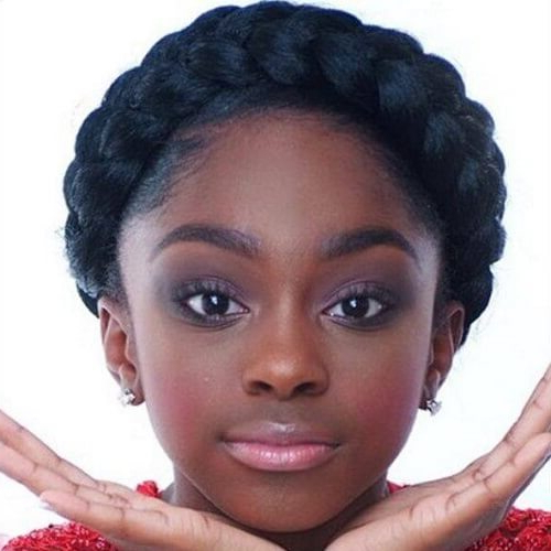 Channel Your Inner Fairy With These 50 Crown Braid Styles with Best and Newest Crown Cornrow Braided Hairstyles