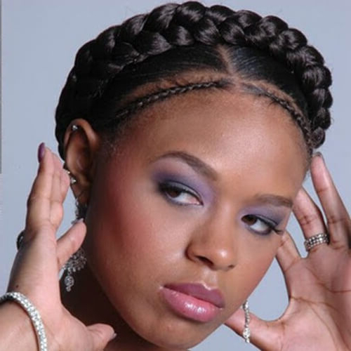 Channel Your Inner Fairy With These 50 Crown Braid Styles within Recent Crown Cornrow Braided Hairstyles