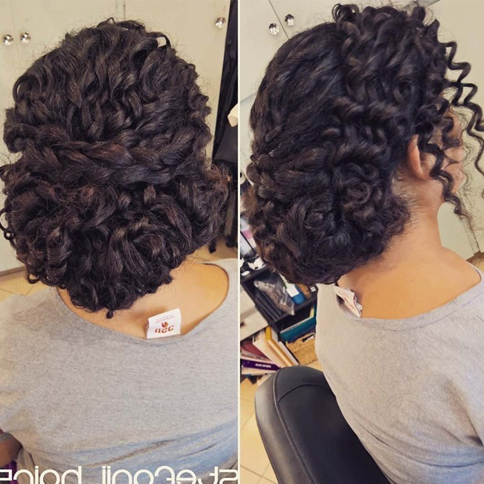 Check Out Our 24 Easy To Do Updos, Perfect For Any Occasion Throughout Curled Updo Hairstyles (View 23 of 25)