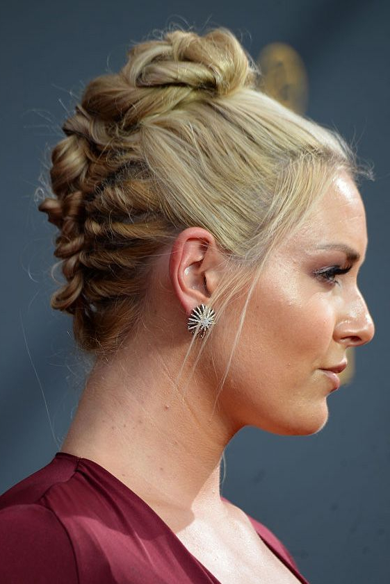 Chunky French Braid Chignon - Goodhousekeeping pertaining to Most Current Chunky French Braid Chignon Hairstyles