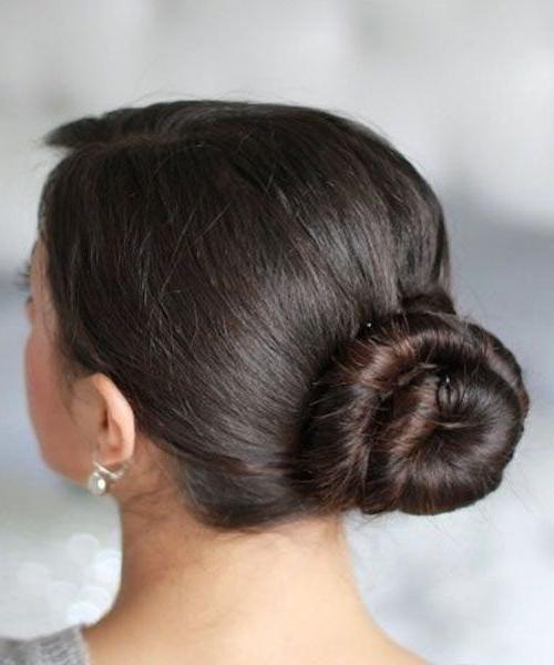Cinnamon Bun. | Long Hairstyles | Long Hair Styles, Braids in Current Cinnamon Bun Braided Hairstyles