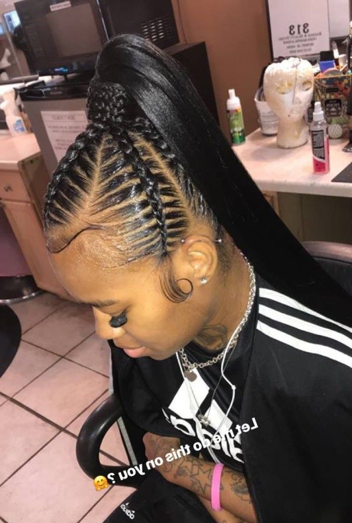 Coco_2200 | Hair In 2019 | Braided Ponytail Hairstyles regarding Braided Ponytails Updo Hairstyles