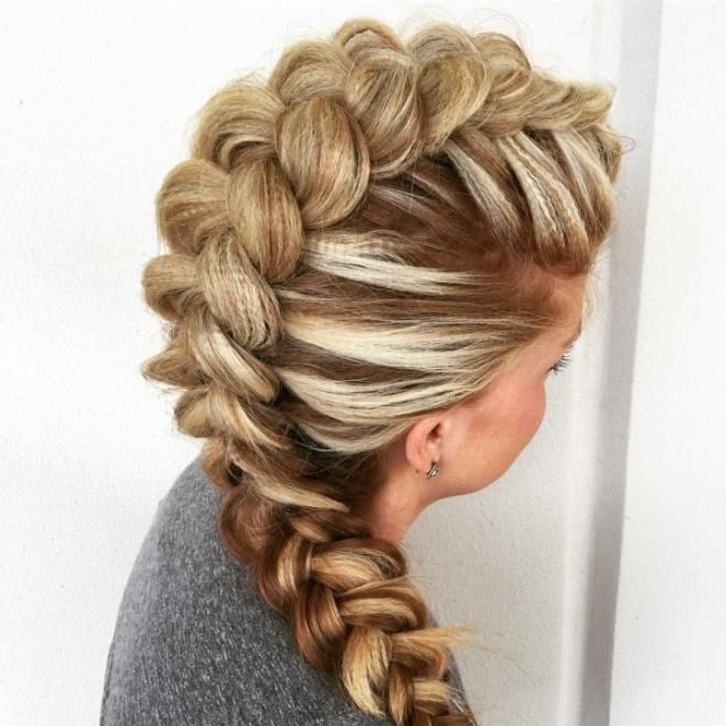 Crimped Bubble Braid | Hair | Plaits Hairstyles, Curly Hair Throughout Bubble Braid Updo Hairstyles (View 2 of 25)