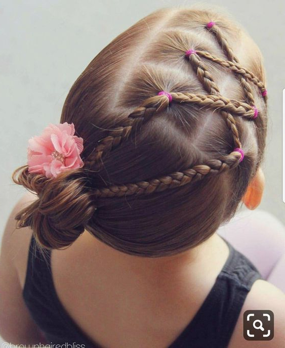 Crisscross Braids With A Bun On The Side | In Criss Cross Braid Bun Hairstyles (View 18 of 25)