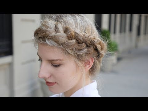 Crown Braid: 8 Steps (With Pictures) Within Newest Angular Crown Braided Hairstyles (View 7 of 25)