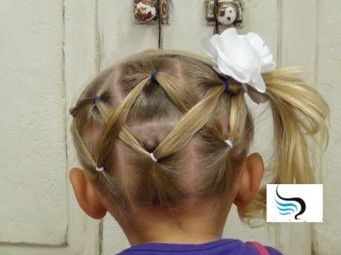 Cute And Simple Horizontal Zigzag Ponytail Hairstyle | A&a Pertaining To Zig Zag Ponytail Updo Hairstyles (View 9 of 25)