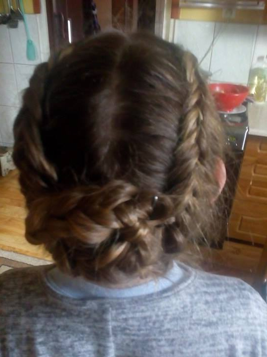 Cute French Plaits Hairstyle With Bun | Hairstyles | Hair with regard to Current Plaited Chignon Braided Hairstyles