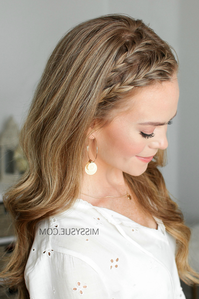 Double Headband French Braids | Missy Sue inside Most Recent Full Headband Braided Hairstyles
