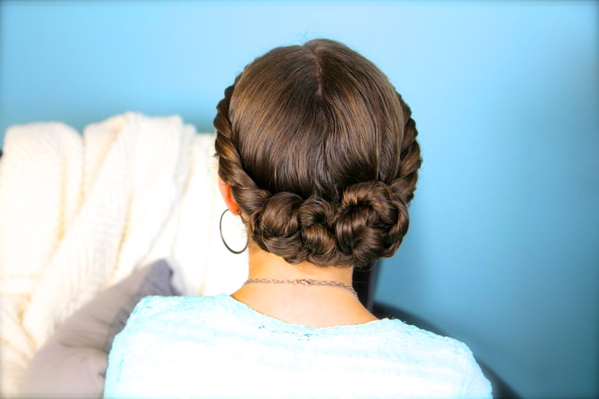 Double Twist Bun Updo | Homecoming Hairstyles | Cute Girls Pertaining To Double Twist Bun Updo Hairstyles (View 6 of 25)