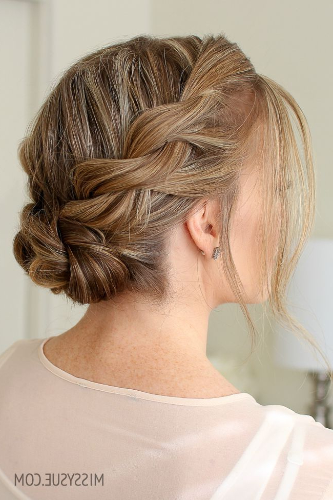 Double Twist Low Buns – Google Search | Designs In 2019 With Regard To Double Twist Bun Updo Hairstyles (View 5 of 25)