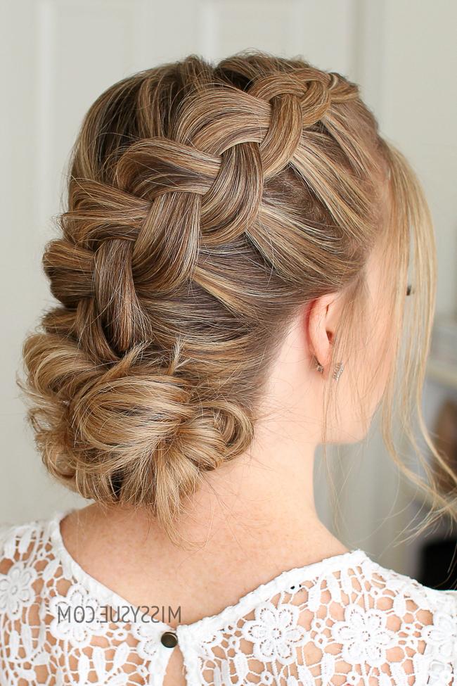 Dutch Braid And Low Bun | Missy Sue For Dutch Braid Bun Hairstyles (View 5 of 25)